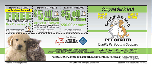 Coupon Book Design